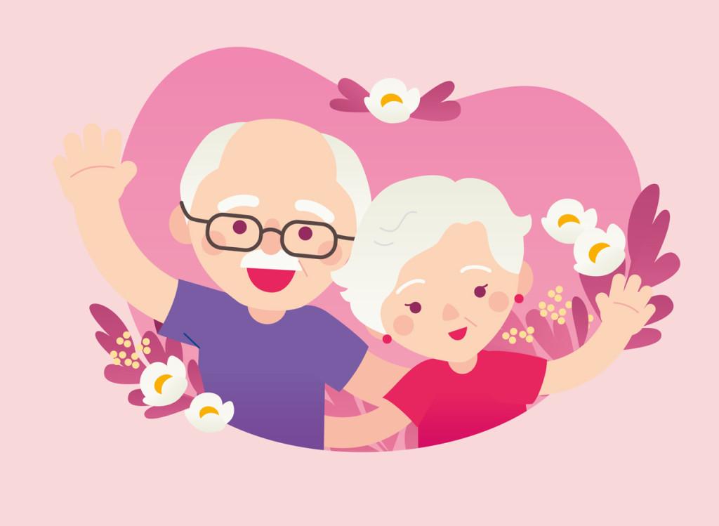 dziadek-babcia